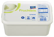 aro Fruchteis Zitrone 3 l Packung