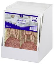 Horeca Select Salami 1A mit Käserand geschnitten 46 Scheiben 7 x 500 g Packungen