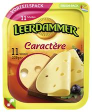 Leerdammer Caractere Scheiben 48 % Fett 225 g Packung