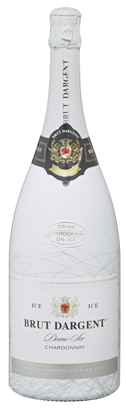 Brut Dargent Ice Chardonnay Sekt halbtrocken - 6 x 1,50 l Flaschen