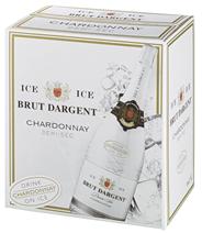 Brut Dargent Ice Chardonnay Sekt halbtrocken - 30 x 1,50 l Flaschen