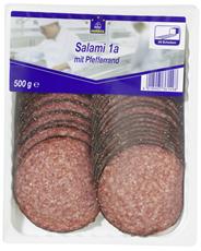 Horeca Select Salami 1A mit Pfefferrand geschnitten 46 Scheiben 500 g Packung