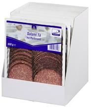 Horeca Select Salami 1A mit Pfefferrand geschnitten 46 Scheiben 7 x 500 g Packungen