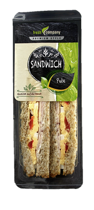 Trevelers Lunch Sandwich Pute & Kräutercreme 6 x 180 g Packungen