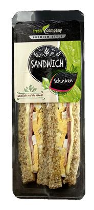 Trevelers Lunch Sandwich Schinken + Käse 6 x 175 g Packungen