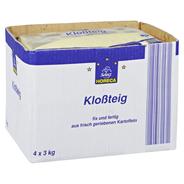 Horeca Select Kloßteig aus frisch geriebenen Kartoffeln, fix und fertig, variabel einsetzbar 4 x 3 kg Packungen
