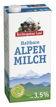 Berchtesgadener Land H-Milch 3,5 % Fett 12 x 1 l Faltschachteln