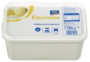 aro Eiscreme Vanillegeschmack 8 x 3 l Packungen