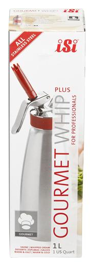 Isi Gourmet Whip Plus Edelstahl 1 Liter