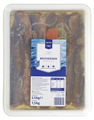 METRO Chef MSC Bratheringe in mildem Aufguss 2,5 kg Schale