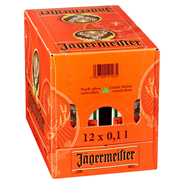 Jägermeister Kräuterlikör 35 % Vol. 48 x 0,1 l Karton