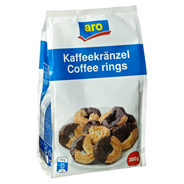 aro Kaffekränzel mit Schokolade 300 g Beutel