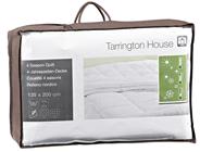 Tarrington House 4-Jahreszeiten Microfaserbettdecke 135 x 200 cm Packung