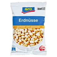 aro Erdnüsse Geröstet Gesalzen 200 g Beutel