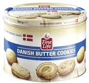 Fine Life Danish Butter Cookies 500 g Dose