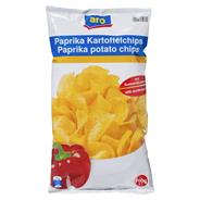 Aro Paprika Kartoffelchips mit Sonnenblumenöl 200 g Beutel