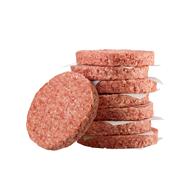 Salomon Foodworld Hitburger Hamburger Classic tiefgefroren, roh, ungewürzt, 4,5-5 inch, 25 Stück á 180 g, aus Rindfleisch 4,5 kg Karton