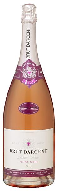 Brut Dargent Pinot Noir Rosè Schaumwein - 30 x 1,50 l Flaschen