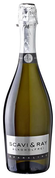 Scavi & Ray Alkoholfrei Sparkling Schaumwein - 6 x 750 ml Flaschen