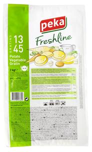 Peka Freshline Gemüse Kartoffelauflauf - 2,00 kg Packung