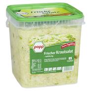 Popp frischer Krautsalat mit grüner Paprika in würzigem Aufguss 5 kg Eimer