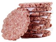 Salomon Homestyle Burger tiefgefroren, roh, ungewürzt, 4-4,5 inch, 23 Stück á 250 g, handwerkliche Optik, aus Rindfleisch 5,8 kg Karton