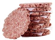 Salomon Homestyle Burger tiefgefroren, roh, ungewürzt, 4-4,5 inch, 27 Stück à 200 g, handwerkliche Optik, aus Rindfleisch 5,4 kg Karton