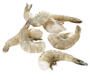Horeca Select Süßwasser-Garnelen tiefgefroren, roh, blanchiert, mit Glasur, ohne Kopf, mit Schale, Easy peel, 36 - 44 Stück 10 x 900 g Beutel