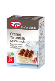 Dr. Oetker Creme Tiramisu 76 Portionen 1 kg Packung