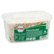 Popp Fleischsalat mit Gurke 1 kg Dose