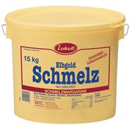 Lukull Elbgold Schmelzmagarine rein Pflanzlich, 100 % Fett 15 kg Eimer