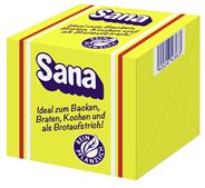 Sana Margarine Würfel 70 % Fett 40 x 250 g Packungen