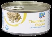 aro Thunfischstücke in Pflanzenöl 48 x 185 g Dosen