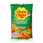 Chupa Chups Lollipops Fruit 120 Stück á 12 g 120 Stück Beutel