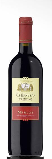 Ca'Ernesto Merlot Rotwein DOC Qualitätswein mit kontrollierter Ursprungsbezeichnung 6 x 0,75 l Flaschen