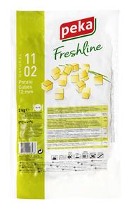 Peka Freshline Kartoffelwürfel - 2,00 kg Packung