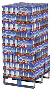 Capri Sonne Kirsch Mehrfrucht-Erfrischungsgetränk mit 10% Fruchtgehalt 1550 x 0,2 l Packungen