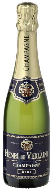 Henri de Verlaine Sparkling Wine 0,375 l Flasche