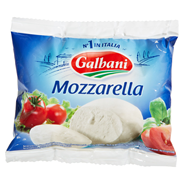 Galbani Mozzarella 45 % Fett i. Tr. 125 g Packung