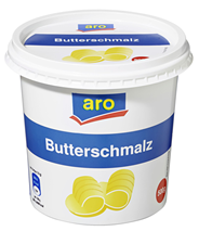 aro Butterschmalz 99,8 % Fett 500 g Becher