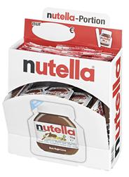 Ferrero Nutella Einzelportionen 40 Stück à 15 g 60 x 600 g Packungen