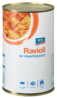 Horeca Select Eier-Ravioli in Tomatensauce 4,25 l Dose
