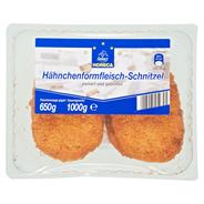 Horeca Select Hähnchen Formfleischschnitzel vorgebraten, 8 Stück à 125 g 1 kg Packung