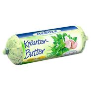 Meggle Kräuterbutter 62 % Fett 125 g Packung