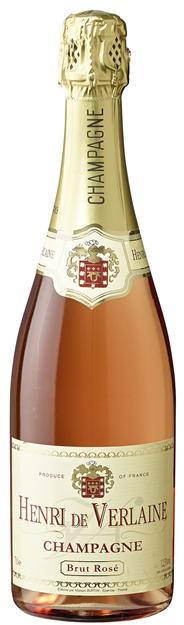 Leoff Henri de Verlaine Rosé Champagner 6 x 0,75 l Flaschen