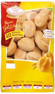 Conditorei Coppenrath & Wiese Unsere Goldstücke Brötchen tiefgefroren, 40 Stück à 50 g, verzehrfertig 2 kg Beutel