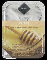Rioba Honig cremig, 100 Einzelportionen à 20 g 2 kg Packung