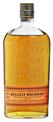 Bulleit Bourbon Frontier Whisky 45 % Vol. - 6 x 700 ml Flaschen