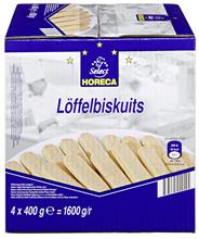 Horeca Select Löffelbiskuit 4 Stück à 400 g 1,6 kg Packung