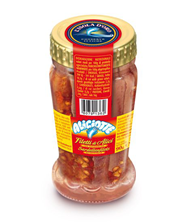 Isola Doro Sardellenfilets mit scharfer Paprika 90 g Glas